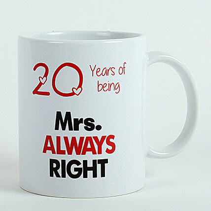 Valentines Printed Mug:Send Gifts to Jorhat