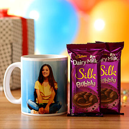 printed mug with chocolate online:Diwali Mugs