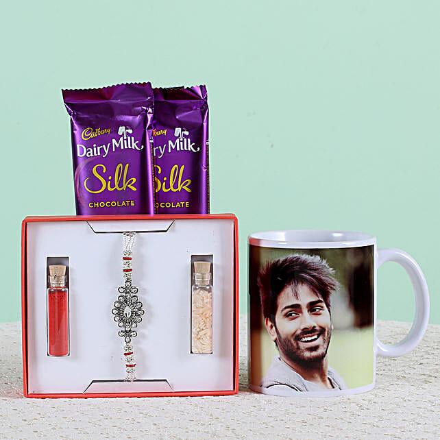 rakhi with personalised combo
