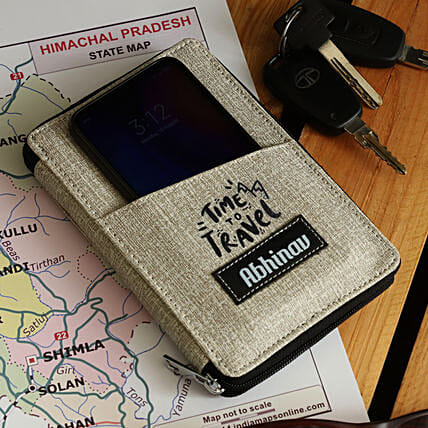 personalised passport holder online