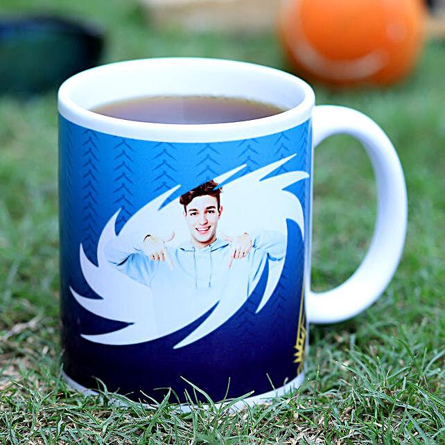 Personalised Mumbai Indian Fans White Mug Hand Delivery