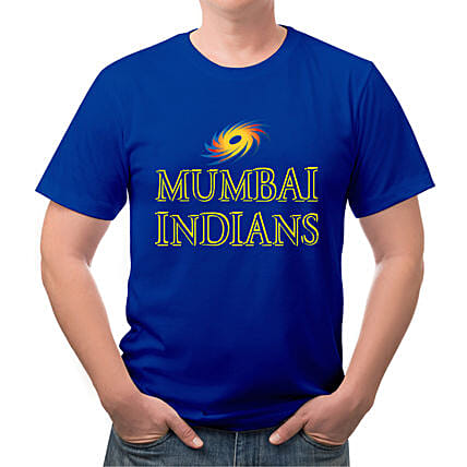 Personalised Mumbai Indians T Shirt:Personalised T Shirts