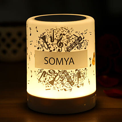 Personalised Musical Bluetooth LED Speaker