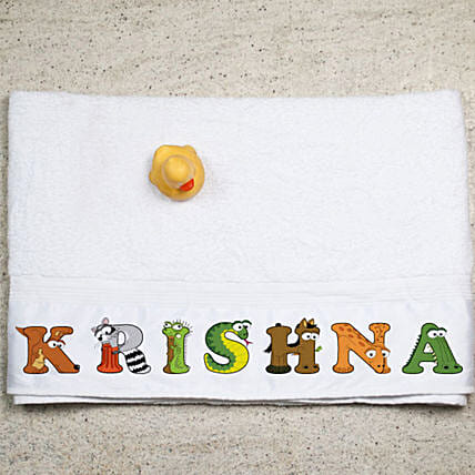 Personalised Name Towel