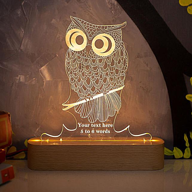 owl shape lamp online