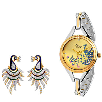 watch & earring  online:Buy Watches