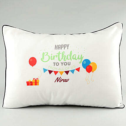 Name Printed Pillow Cover Online:Personalised Pillow-covers