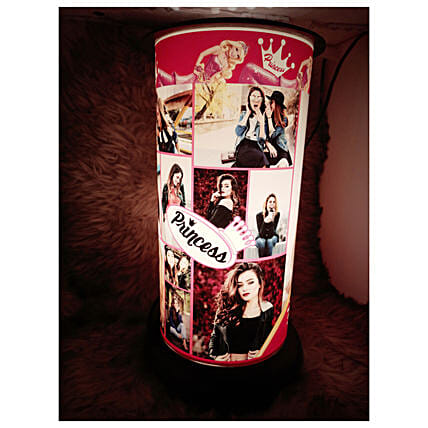 Online Rotating Lamp for Her:Premium Personalised Gifts
