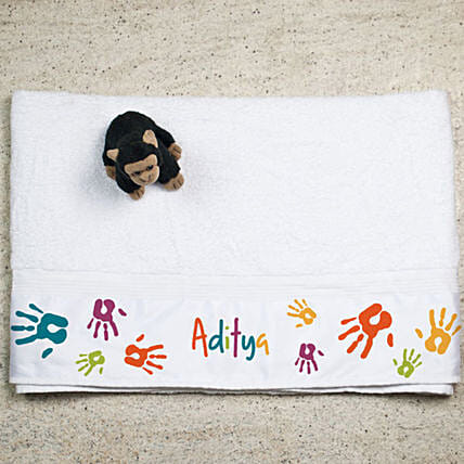 Personalised Printed Bath Towel