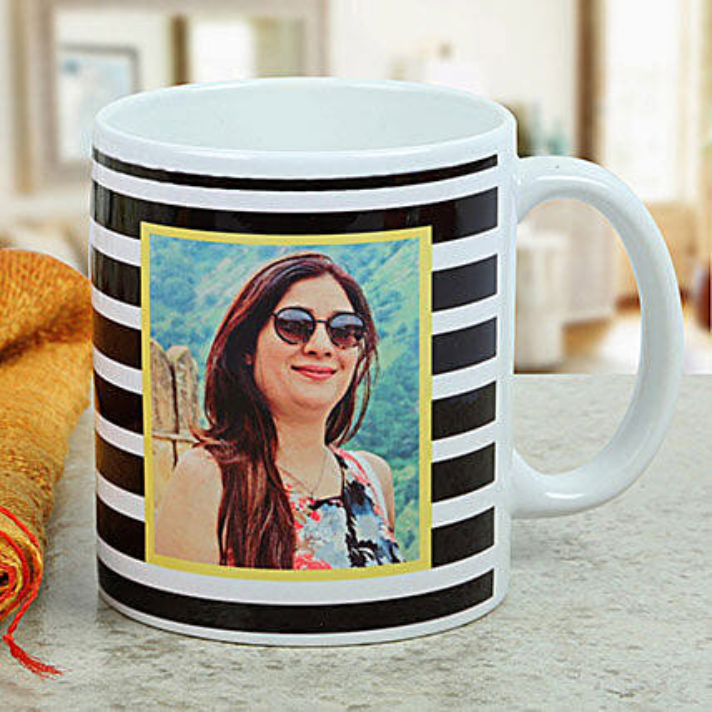 Womens Day Personalised printed mug:Friendship Day Personalised Mugs