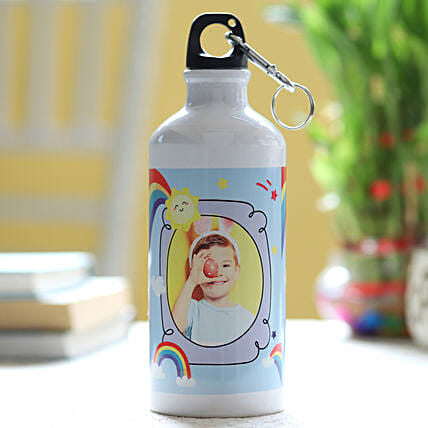 Online Personalised Rainbow Bottle:Gifts For Children Day