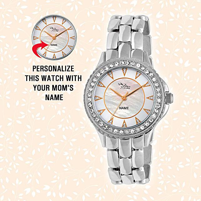 shiny silver watch online