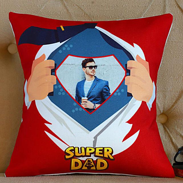 Personalised Super Dad Cushion