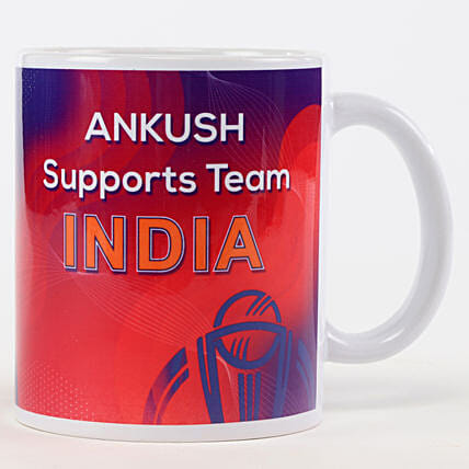Customise Cricket Lover Mug:Cricket World Cup Gifts