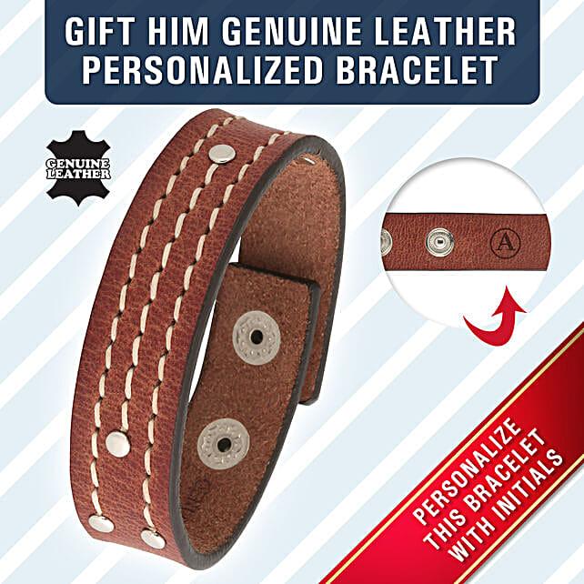 leather bracelet online
