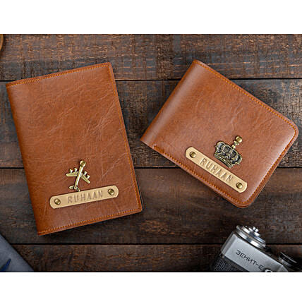 Online Customised Passport Cover And Wallet