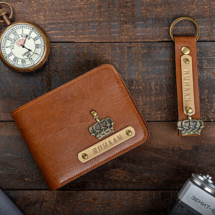 Customised Wallet And Keychain:Personalised Accessories