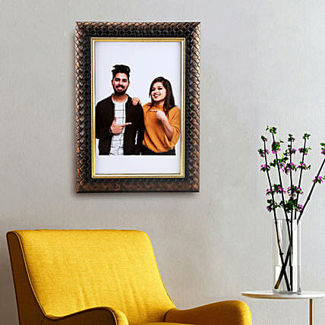 border photo frame online:Valentine Personalised Photo Frames