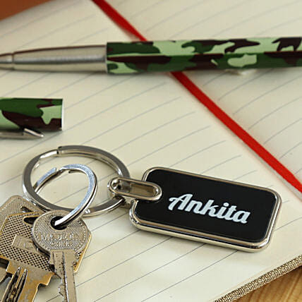 personalised keychain for her