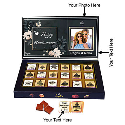 Buy Personalised Anniversary Chocolates