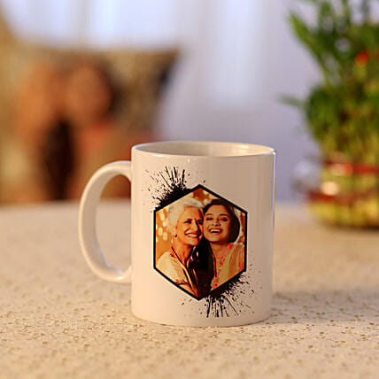 Personalised White Mug For Mom