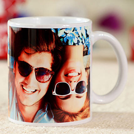 photo printed in white ceramic coffee mug