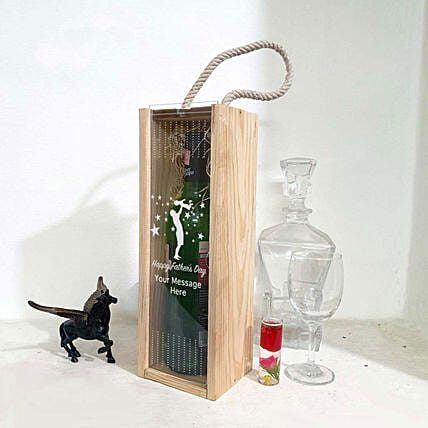personal touch wine box for father