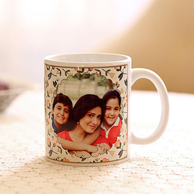 Womens Day Personalised photo mug:Friendship Day Personalised Mugs