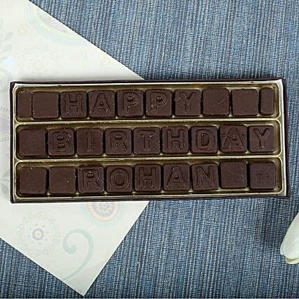Personalised Chocolates chocolates:Unique Gifts For Boys