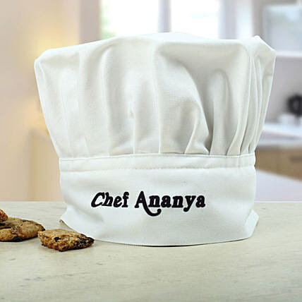 Personalized chef cap