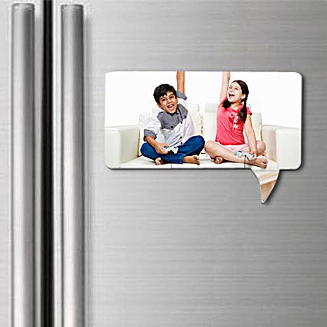 Personalized fridge magnet