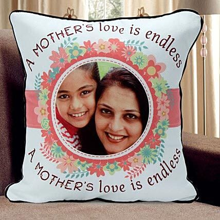Personalized Mothers Day cushion