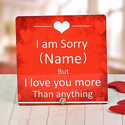 Personalized Table Top:I am Sorry Personalised Gifts