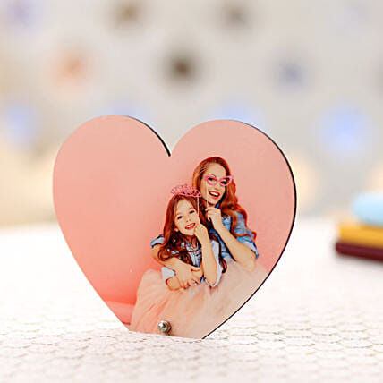 Personalized Heart Frame-heartshape frame:Mothers Day Gifts Ludhiana
