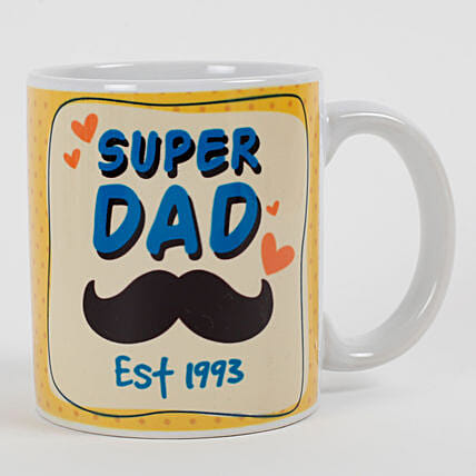 printed mug for fathers day