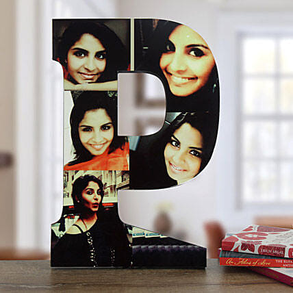 Personalized p shaped table top:Table tops Gifts