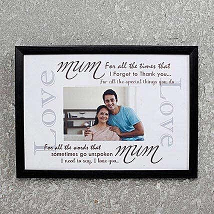 Customize Photo frame for Mom