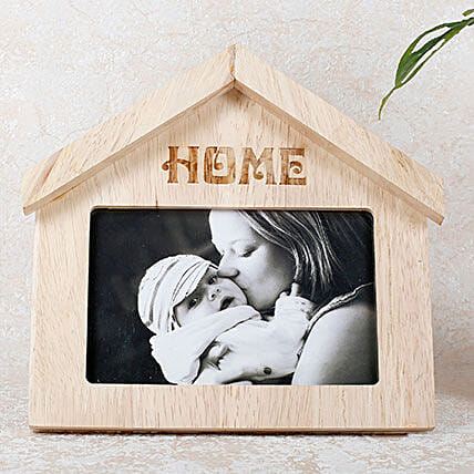 Hut shape Photo Frame:Mothers Day Home Decor Gifts