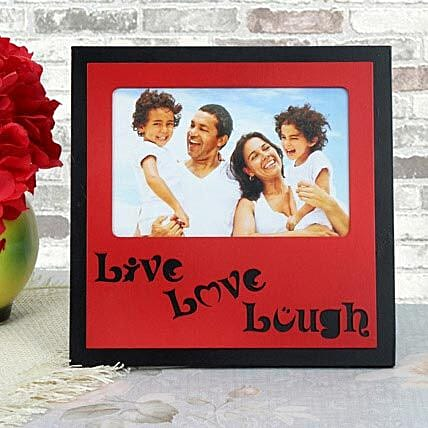 Personalized live love laugh photo frame for Mothers Day:Mothers Day Photo Frames