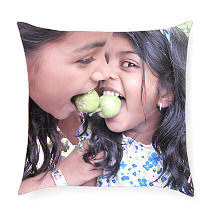 Print Cushion-gifting them this comforting and personalized 12 x 12 inches cushion:Personalised Cushions Birthday