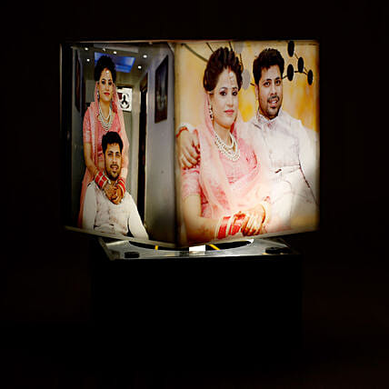 Personalized Rotating Lamp:Send Personalised Gifts to Jaipur