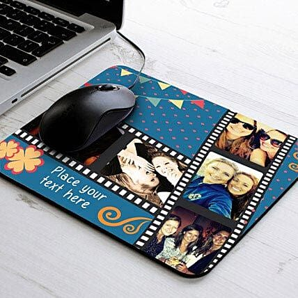 Personalized Mouse Pad-Picture Strip Personalized Mouse Pad