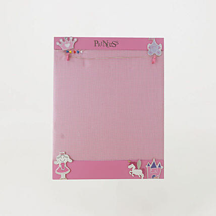 Pinboard Horizontal Princess AssortedOnline:Wall Clocks