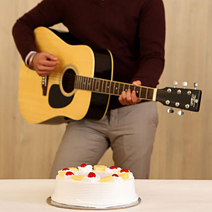 Pineapple Cake & Melodious Tunes Combo