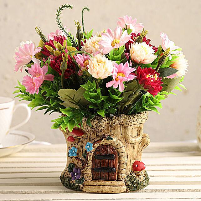 Online Artificial Flowers Pot