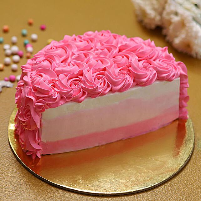fantsy cream cake online:Half Cakes