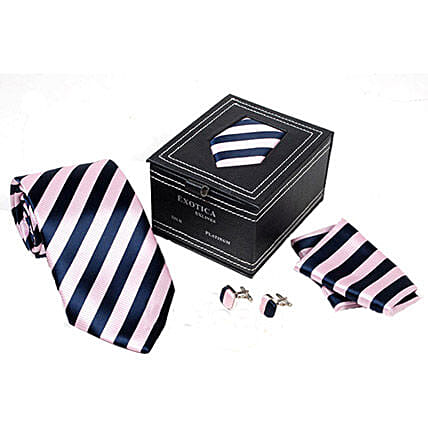 Mens Ties Online:Tie and Cufflinks