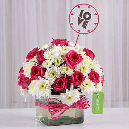 flower arrangement for her