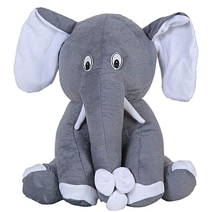 Cute Elephant Soft Toy:Soft toys to Patna