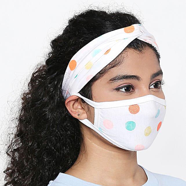 Online Polka Paradise Mask